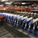 خط تولید دستگاه تولید دستکش کارگری
