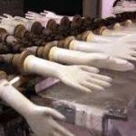 دستگاه تولید دستکش کارگری